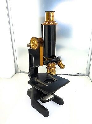 .c1912 BAUSCH & LOMB OPTICAL Co, USA MICROSCOPE. SERIAL No 132259