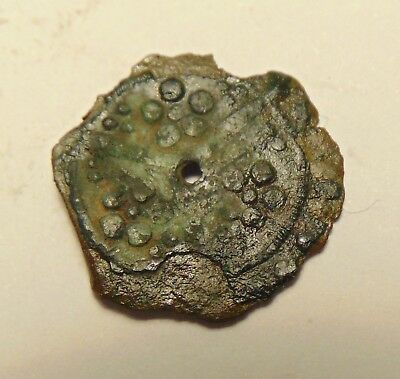 Ancient Coin, Roman(?) - Nice Detail, Uncleaned & Unresearched (17-08/027)