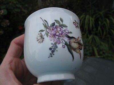 Superb 18thC Meissen Porcelain with Flowers Cup c.1760