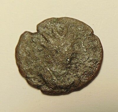 Large Roman Coin - Showing Nice Detail, Uncleaned & Unresearched (17-02/012)