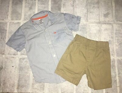 Carters Boys 3T Cute Spring Outfit in EUC
