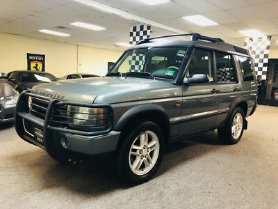 2004 Land Rover Discovery SE Sport Utility 4-Door low mile free shipping warranty clean 2 owner 4x4 luxury finance cheap se