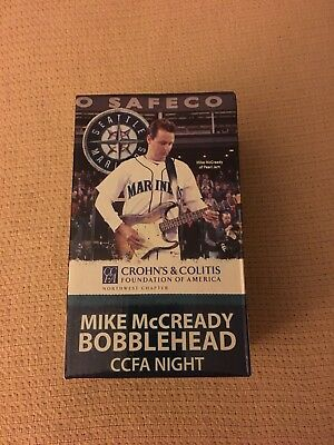 2011 Official CCFA Pearl Jam Mike McCready Bobblehead - RARE - Hard To Find