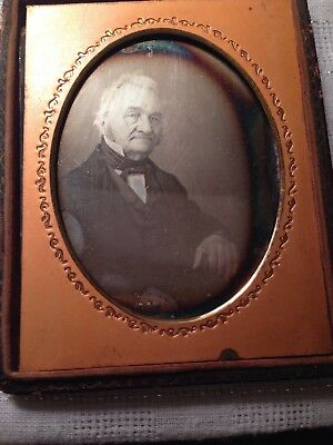 Gaudin Double Daguerreotype Hall marked W Lamb Bwt 2 Crescent Moons 40% Silver