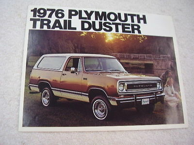 1976 Plymouth Other sport plymouth trailduster Truck SUV 4x4 4wd Blazer