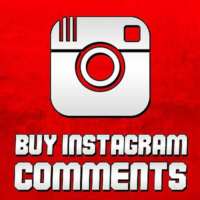 50 Instagram custom or Random Comments High-Quality