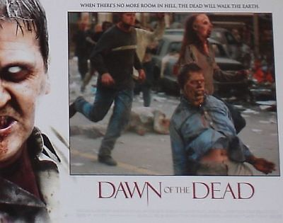 DAWN OF THE DEAD - 11x14 US Lobby Cards Set - Zack Snyder, Sarah Polley - HORROR