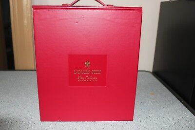 Complete REMY MARTIN LOUIS XIII 13 Baccarat Crystal Cognac Empty Decanter Set