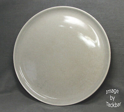 Vintage Russell Wright Designer 10 in. Gray Dinner Plate