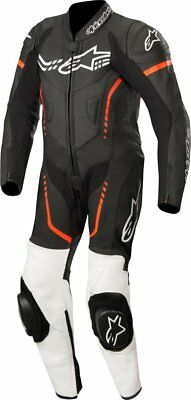Alpinestars GP Plus Youth 1-Piece Leather Suit Black/White/Red