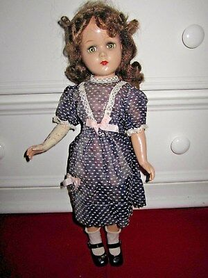 """Vintage ARRANBEE 18"""" COMPOSITION DOLL- JOINTED, SLEEP EYES  """"NANCYLEE"""""""