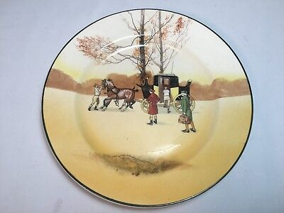 Royal Doulton Coaching Days Luncheon Plate
