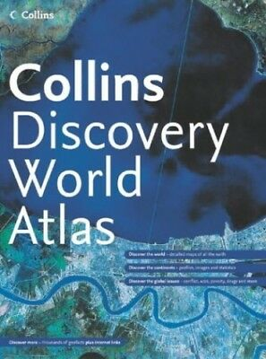 Collins Discovery World Atlas by unknown Hardback Book The Cheap Fast Free Post