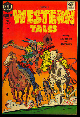 Witches Western Tales #30 High Grade Simon & Kirby Harvey File Copy 1955 VF