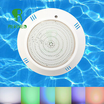 PU Filled led swimming pool lights RGB with 6.56ft cable and bracket CE RoHs