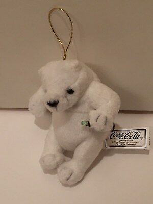 Coca Cola Polar Bear Holiday Ornaments (100 bears) BRAND NEW out of production