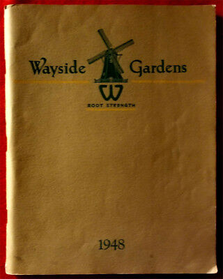 VINTAGE ~ 1948 Wayside Gardens Root Strength Flower Catalog, 190 Pages