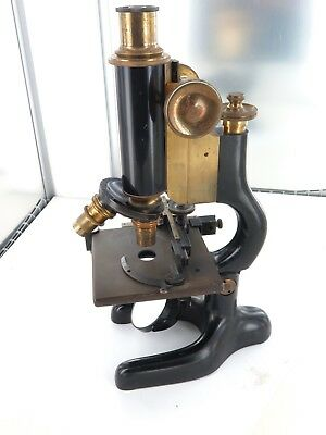 .EARLY 1900s BAUSCH & LOMB OPTICAL Co, USA MICROSCOPE. SERIAL No 104163