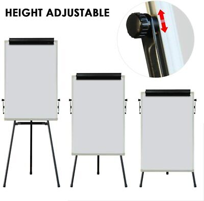 Higt quality flip chart easel adjustable magnetic whiteboard  T type 60x90