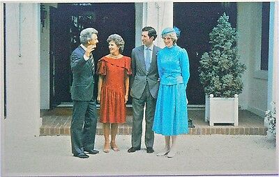 Postcard.royalty.charles & Diana In Australia.lot Of 10 Cards 1 With Bob Hawke