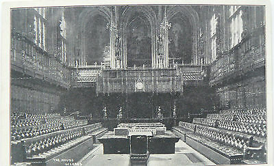 Vintage Postcard.the House Of Lords.postmarked Nsw 1905.interesting