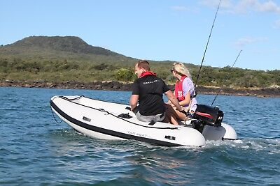 Takacat 400 Sport - 4.0m - VERY STABLE - WILL TAKE 20hp OUTBOARD - NEVER USED