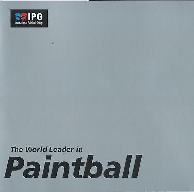20 Paintball Tickets for IPG (International Paintball Group) $800 Value