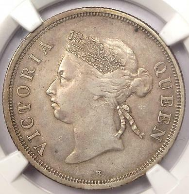 1900-H Straits Settlements Victoria 50C - NGC VF30 - Rare Certified Coin