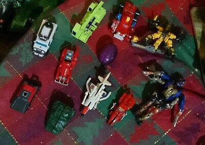 11x MINI Transformers TOYS Mixed LOT Robots