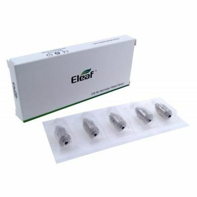 Pack 5 résistances Eleaf GS Air2/ GS Tank - 1.5ohm - 1,2ohm - 0.75ohm - 0,15ohm