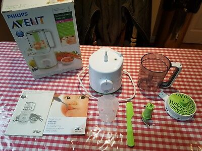 Phillips Avent Combined Baby Food Steamer And Blender !! Free Delivery !!!!