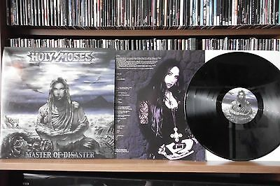 "HOLY MOSES ""MASTER OF DISASTER"" rare LP"