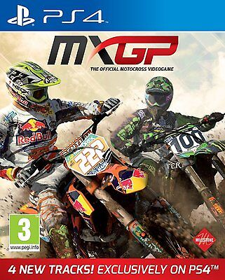 PS4 Game Mx GP - The Official Motocross - Simulation MXGP 2014 NEW