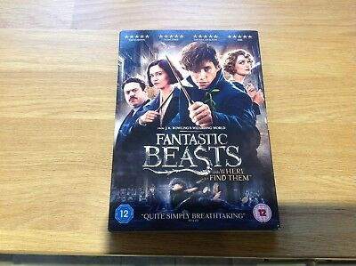 Fantastic Beasts and Where to Find Them. DVD. Watched once.