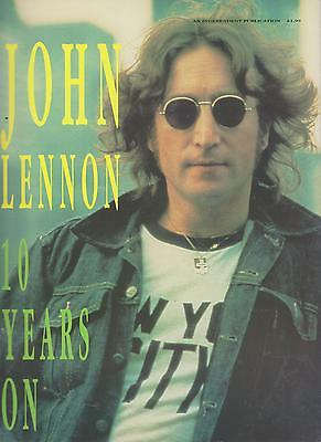 A Tribute To John Lennon Mag  10 Years On