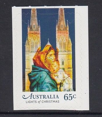 AUSTRALIA 2017 - CHRISTMAS 65C P&S from the Religious $13 Booklet MNH