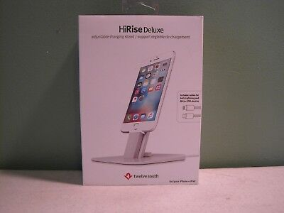 TWELVE SOUTH HiRise Deluxe Adjustable Charging Stand - for iPhone / iPad