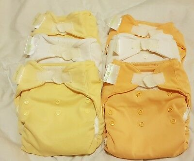 Bumgenius organic all-in-one cloth nappy x 6