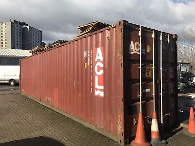 40ft Used shipping container (12m*2.9m)