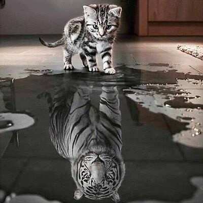 3D DIY Diamond Embroidery Painting Animals Of Cat To Tiger Home Decoration MT