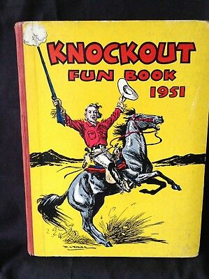 Childrens Annual 'KNOCKOUT FUN BOOK' 1951