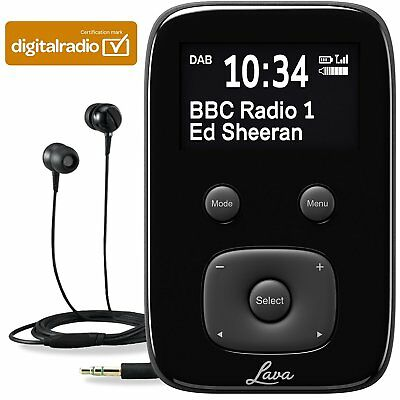 Portable Pocket Perosnal Digital DAB FM Radio Rechargeable Battery By Lava