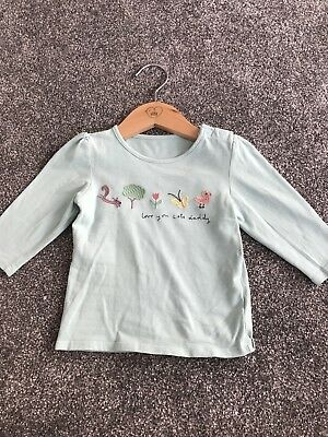 Marks & Spencer, M&S Baby Girl Long Sleeved Top 9-12 Months
