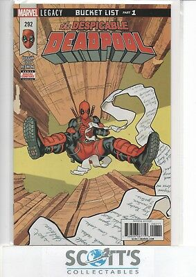 Despicable Deadpool #292 New  (Bagged & Boarded) Freepost
