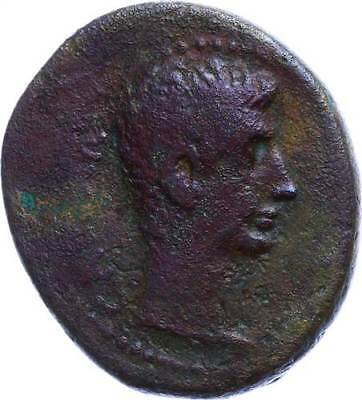 47575) Antiochia, Augustus 27-14, Æ As, RPC 4100, s-ss