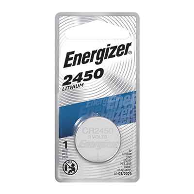 Energizer CR2450 Lithium 3V Coin Cell Battery 1-Count - Tracking Included!