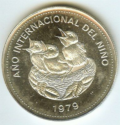 Costa Rica 1979 100 Colones  Exceptional Uncirculated