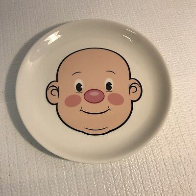 """Fred & Friends Wooly Willy Play with Your Food 8 1/2"""" Snack Lunch Plates"""