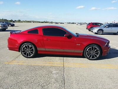2013 Ford Mustang Leather 2013 Ford Mustang GT Premium w/ MGW shifter + Borla S-Type, Candy/Silver