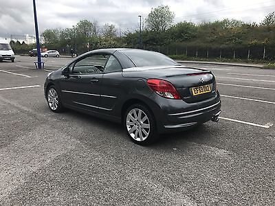 2010 Peugeot 207  Fap Gt Cc Grey Convertible Cat D Super Light Panel Repaired